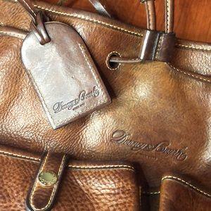 Dooney & Bourke genuine leather brown purse